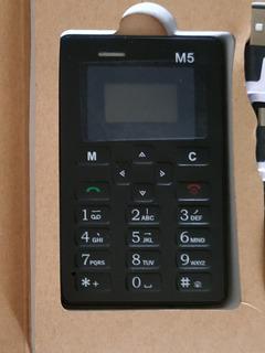 Mini Celular Espia Antirobo. Aeku M5