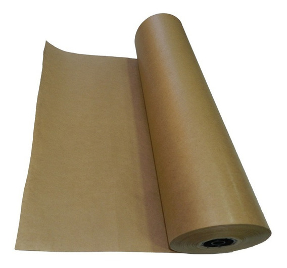Papel Pardo Para Embalagem, Embrulho 80g/m² X 60cm Kraft