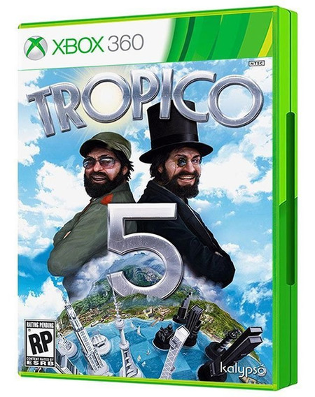 Tropico 5 - Xbox 360 - Mídia Física E Lacrada