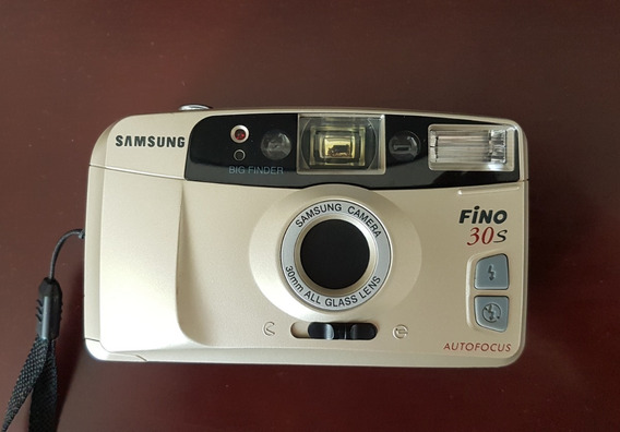 Câmera Fotográfica Samsung Fino 30 S