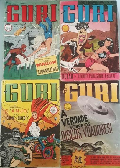 Revistas (o Guri) - Anos 54-58 - Original - (frete Grátis)