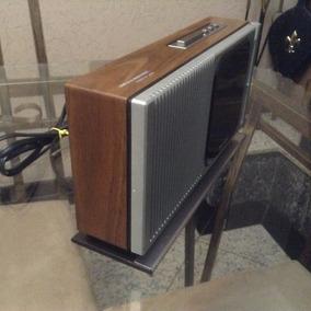 Rádio Relógio Panasonic Rc-205 Made In Japan. Ler Anúncio.