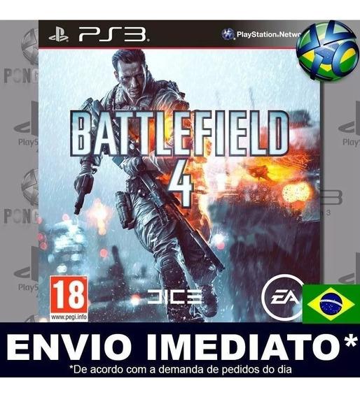 Jogo Ps3 Battlefield 4 Psn Play 3 Português Br Mídia Digital