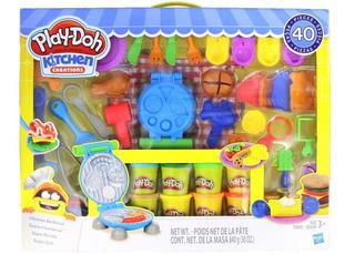 Set Play Doh Creaciones De Cocina 40 Piezas.