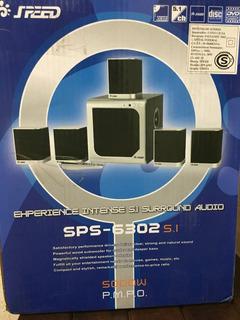 Home Theater Modelo Sps-6302 ( Cod 634 )para Pc