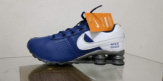 Tenis Nike Shox Grade Fechada 12 Pares 1 Cor Com Caixa E Tag