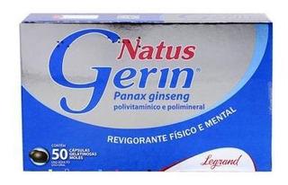 Natus Gerin C/50 Cáps - Panax Ginseng