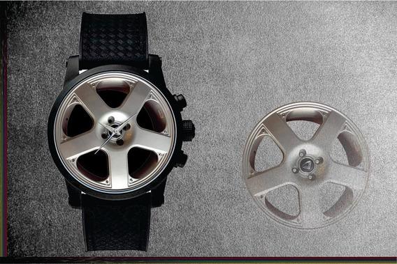 Relógio De Pulso Personalizado Roda Santa Monica Esportiva 2