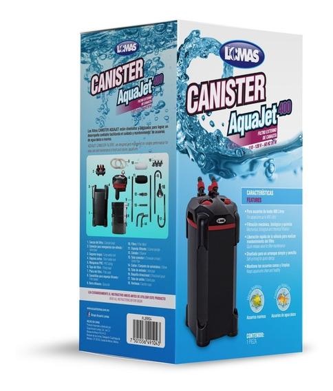 Filtro Canister Aquajet 400 Litros Peces Acuario