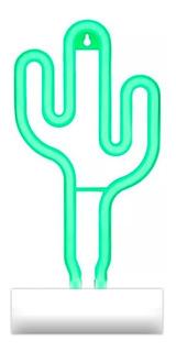 Lámpara Espejo Infinito Luz Led Cactus Decoración Cuotas