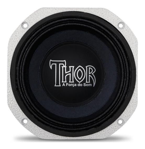 Auto Falante Médio Grave Thor 6p 250w Watts Rms 4 Ohms