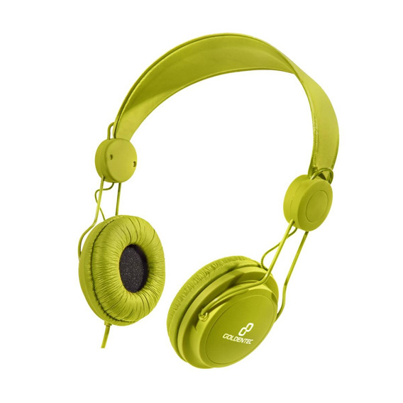 Headset Goldentec Gt Soul Colors Verde