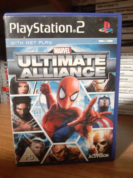Marvel Ultimate Alliance Ps2 Pal Europeu Original