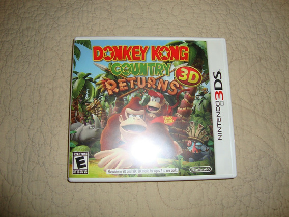 Donkey Kong Country Returns Completo Para Nintendo 3ds