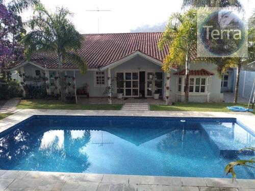 Casa Com 3 Dormitórios À Venda - Parque Dom Henrique - Granja Viana - Ca2408