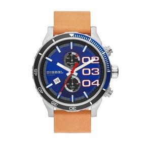Relógio Diesel Dz4322 Double Down 2.0 | Marrom Original Novo