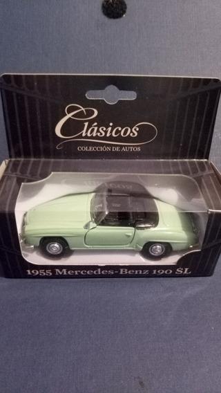 Colección Autos Clásicos N°9 Mercedes Benz 190