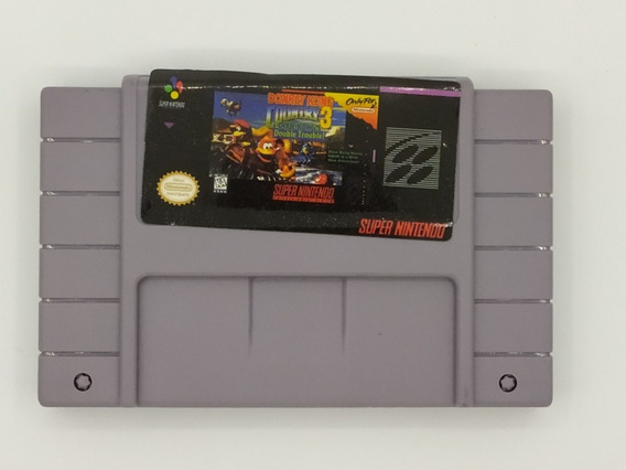 Cartucho Donkey Kong Coutry 3 Snes Fita Super Nintendo