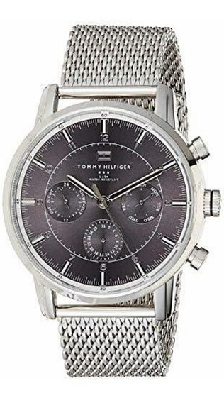 Reloj Para Hombre Tommy Hilfiger Acero 1790877 Moderno