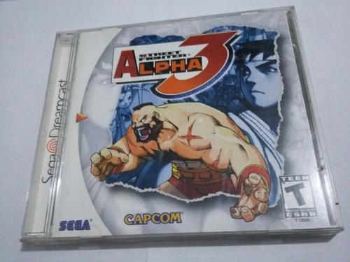 Street Fighter Zero 3 Original - Sega Dreamcast