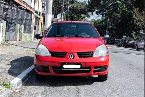 Renault Clio Hi-flex 1.0 16v 5p - 2012 (vermelho, Lindo!)