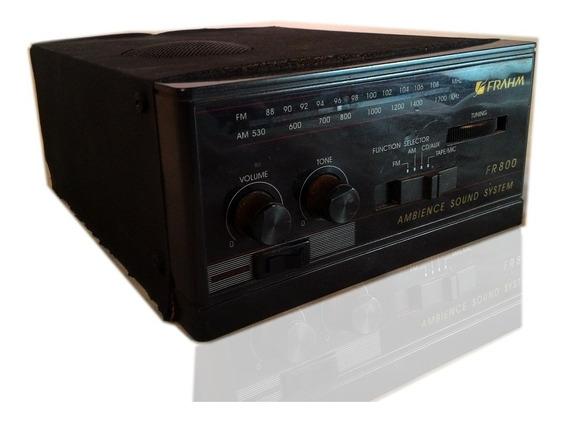 Amplificador Receiver Radio Frahm Fr800