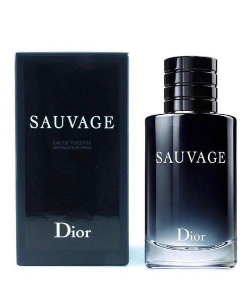 Perfume Sauvage Dior Edt 100ml Adipec + Amostra
