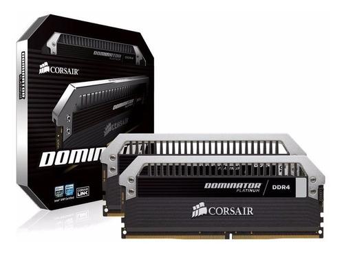 Memória Corsair Dominator Platinum 32gb (4x8gb) 3000mhz Ddr4