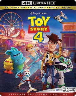 Toy Story 4 4k Ultra Hd + Blu-ray Nuevo Original Importado
