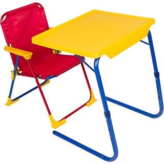 Tablemate 4 Kids Juego De Mesa Y Silla Plegable De Plastico