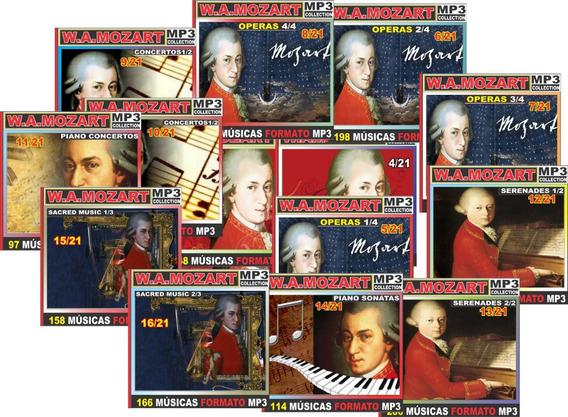Mozart Obra Completa Com 220 Cd
