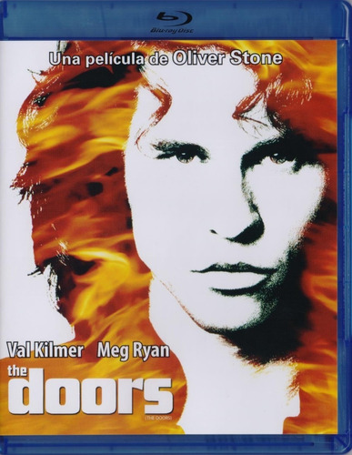 The Doors Val Kilmer Oliver Stone Pelicula Blu-ray