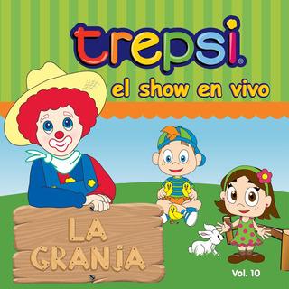 Cd Vol 10 Trepsi Musica Infantil Niños El Show En Vivo