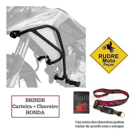 Protetor Motor Carenagem + Pedaleira Xre300 Scam Brinde