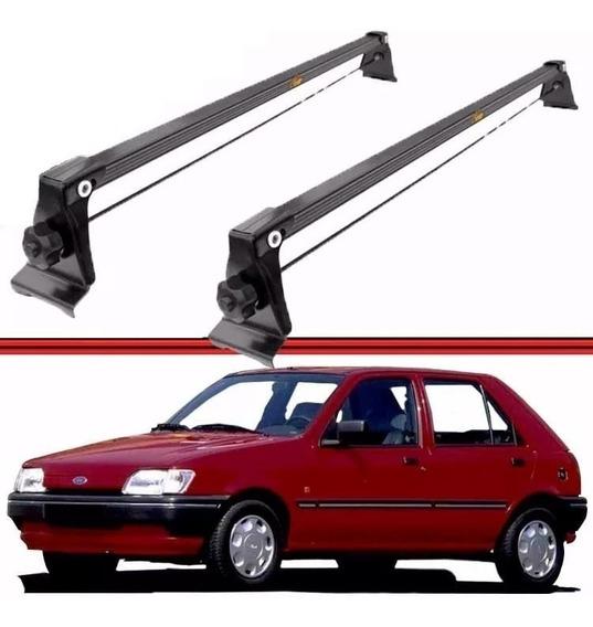 Rack De Teto Ford Fiesta 1995 Até 2002 Fixação Friso