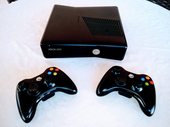 Xbox 360 S + 250 Gb + 2 Controles + Kinect + 13 Jogos
