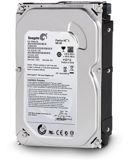 Disco Rigido 500gb 3,5 Sata Ii Seagate Dvr Pc Vtas X Mayor