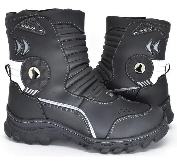 Boot Couro/forro Impermeável Tamanho Especial 45 Ao 48