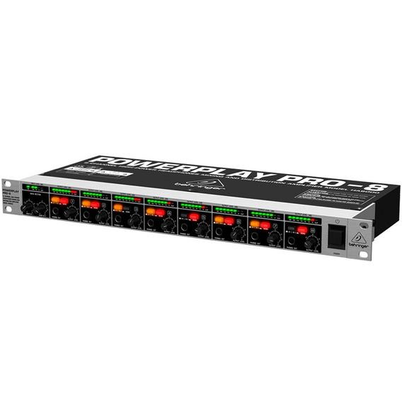Amplificador De Fones Powerplay Behringer Ha8000 8 Canais