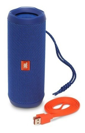 Caixa De Som Bluetooth Jbl Flip 4 Blue