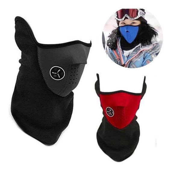 Mascara Moto Gruesa Neoprene Polar Nacional Top Racing Rt