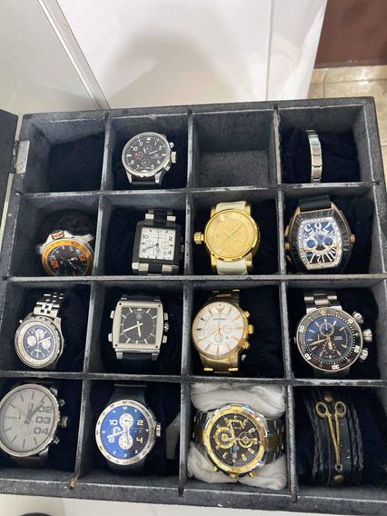 Relógios Com Caixa E Tudo