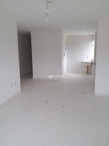 Apartamento À Venda, 60 M² Por R$ 170.000,00 - Maria Paula - São Gonçalo/rj - Ap43851