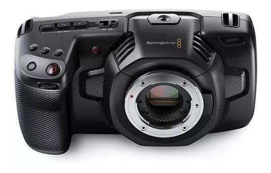 Black Magic Pocket Cinema Camera 4k Bmpcc4k + Lente + Bônus