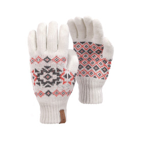 Guantes Mujer Nordic Glove Blanco Lippi