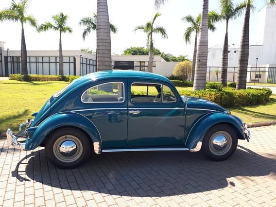 Volkswagen 1964 1200 Fusca Placa Preta