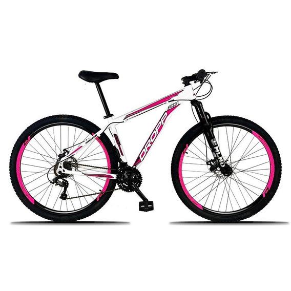 Bicicleta Aro 29 Quadro 19 Alumínio 21 Marchas Freio A Disco