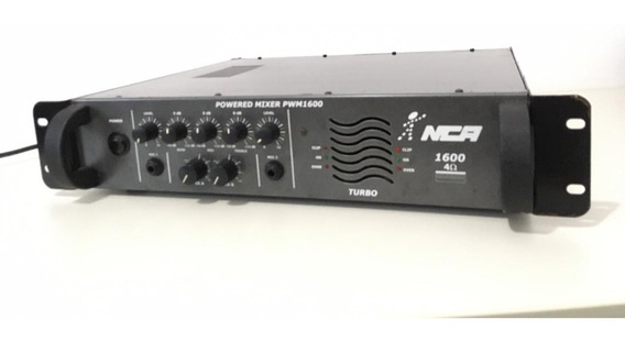 Amplificador De Som Nca 1600 Powered Mixer