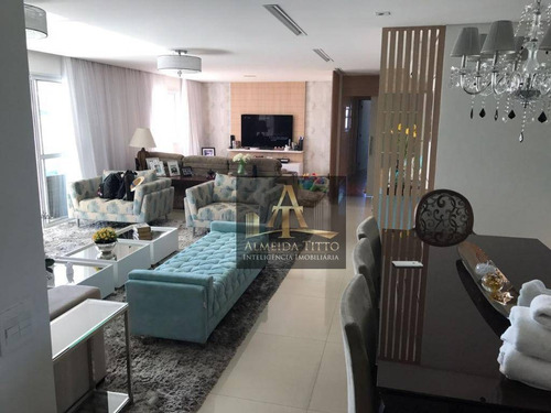 Maravilhoso Apartamento Á Venda No Condomínio Eredita - Tamboré - Confira ! - Ap2695