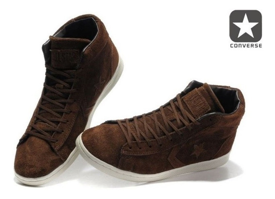Converse John Varvatos En Piel Mid Drk Brown Limited Editio